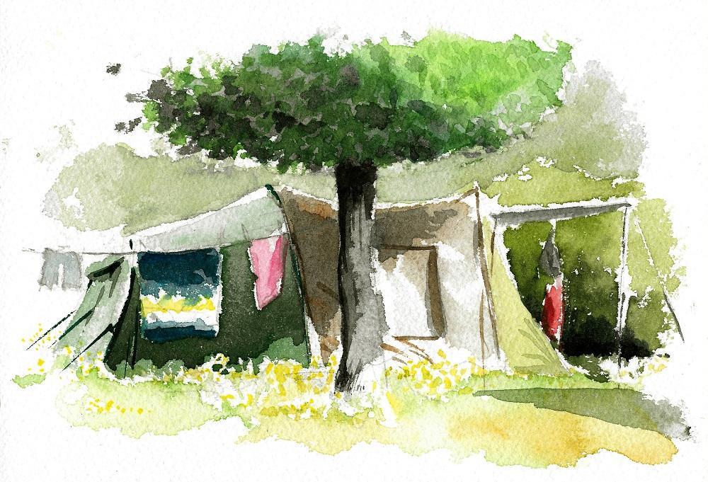 Camping bagnoles 1000