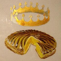 Galette et couronne