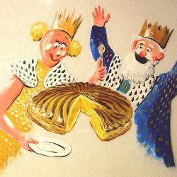Galette reine et roi