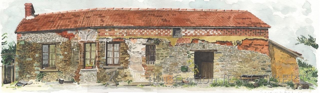 Maison en terre a saint fromond 1